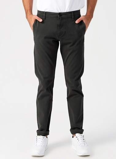Dockers Dockers Smart 360 Flex Ultimate Chino Slim Pantolon Antrasit